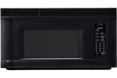Sharp R-1405 950-Watt 1-2/5-Cubic-Foot Over-the-Range Microwave, Black Image