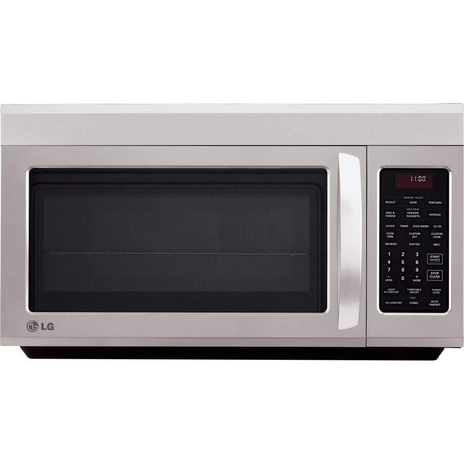 Over The Range Microwave Ovens ~ Review lg lmv st over the range microwave oven