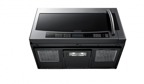 Samsung SMH2117S 2.1 Cu. Ft. Stainless Steel Over-the-Range Microwave Picture