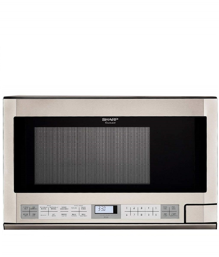 Panasonic NN-SN973S Stainless 2.2 Cu. Ft. Countertop/Built-In Microwave with Inverter Technology Image