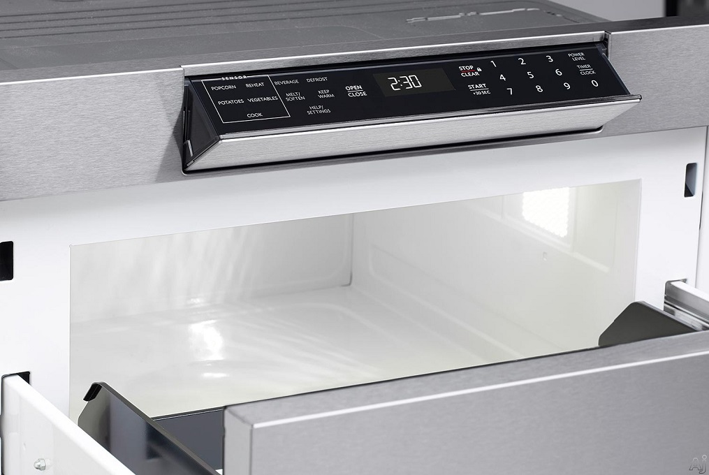 Review Sharp Smd2470as Built In Microwave Drawer